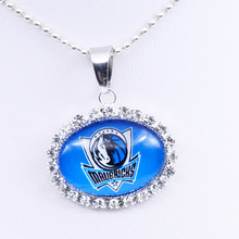 Necklace Dallas Charm Pendant Basketball Jewelry for Women Gifts Party Birthday Wholesale 2018(China)