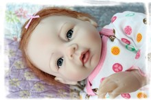 55cm cheap dollar New Reborn Baby Super artificial Lifelike top quality kid toy for boys and girls silicone reborn baby dolls