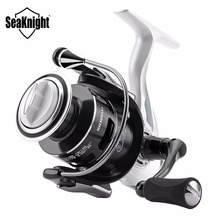SeaKnight CM II 2000 3000 4000 5000 Spinning Fishing Reel 10BB 5.5:1 Aluminum Carbon Fiber Wheel Carp Tackle + Free Spare Spool(China)
