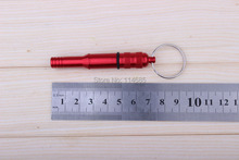 New Arrival Outdoor Sports Whisted Large Aluminum Alloy Whistle Survival Whistle(China)