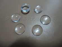 LED optical Glass lens diameter 11.8MM Height 4.6MM condenser LED lens ,optical Plano convex lens(China)