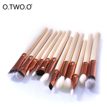 Buy O.TWO.O Make Brushes Professional Artist Brush Kit Cosmetic Blush Set Eyeshadow Eyebrow Lip Brush Makeup Brushes Tools for $4.79 in AliExpress store