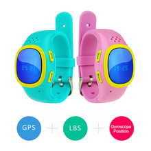 Portable Children Smart Watch SOS GPS Position Waterproof WIFI with SIM Bracelet Multifunction Kid Cell Phone SmartWatch(China)