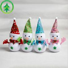 4 Pcs Lovely Christmas Pointy Hat Clap Doll Christmas Decoration Xmas Tree Hanging Ornaments Pendant Best Gift