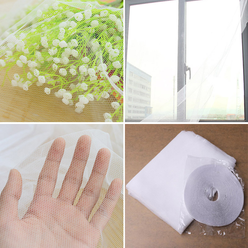 1Pc New Beauty White Large Window Screen Net Insect Anti Mosquito Bug Curtain Door Netting High Quality & Door Net Large Promotion-Shop for Promotional Door Net Large on ... Pezcame.Com