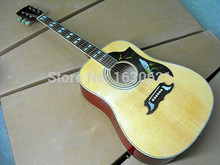 2017 New + Factory + Chibson DOVE acoustic guitar Spruce top GB DOVE electric acoustic guitar Sapele body DOVE frees shipping(China)
