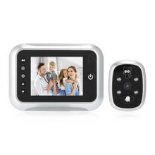 "3.5""  LCD  Screen Doorbell Viewer Digital Door Peephole Viewer Camera Door Eye Video record 120 Degrees Night vision HOT"