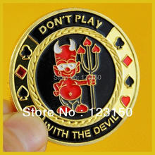 Buy JZ-051 Card Protector, Texas Holdem Accessories, Devil for $9.99 in AliExpress store