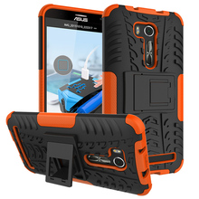 Military Armor Kickstand Phone Case Cover For Asus ZenFone Go TV ZB551KL Cover ASUS_X013DB 5.5 inch Case 2 in 1 Hybrid Housing