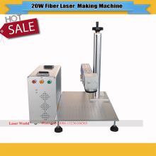 200*200mm High quality hot sale Fiber Laser marker machine metal low price fiber laser marking machine(China)