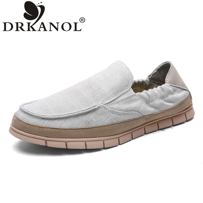 Men shoes chaussure homme spring autumn slip on loafers men flats soft comfortable breathable hemp men flat casual shoes<br><br>Aliexpress