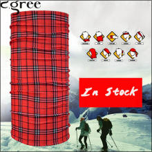 C.gree Custom Red Neck Tube Headband babushka Head Scarf Face Mesh 25*48 cm Solid Bandana kerchief hijab Bandana Tube 24