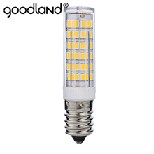 Mini LED Light E14 7W 220V LED Lamp Corn Bulb SMD2835 Chandelier LED Lamps For Pendant Refrigerator Light Replace Halogen Lamps(China)