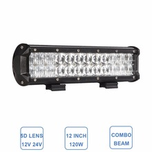 12'' 5D 120W Offroad LED Light Bar Lamp 12V 24V Car 4X4 4WD Wagon Truck Pickup Trailer Tractor Boat UTE AWD Driving Headlight
