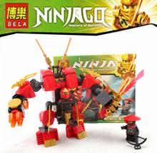 10Ninjago Set Kai Scout Kai's Fire Mech Ninja Building Bricks Blocks Figures Hero Toys 70500 - Friends Toy Store store