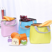 Portable Lunch Bag Thermal Food Picnic Lunch Bags Women Kids Men Lunch Box Bag Tote Handbag Insulated Food Storage Box