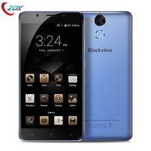 Blackview P2 Lite Mobile phone MTK6753 Octa Core 4G Phone 3GB+32GB Type-C 5500mAh Battery Android 6.0 Smartphone Fingprint ID