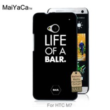 On Sale Luxury Cool phone Accessories Case For case HTC One M7  Life Of A Balr black design