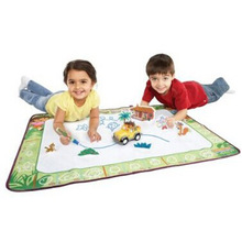 Big size 60cm x 90cm Children Water Drawing Toys drawing board/ mat Aquadoodle play Mat with 1pc Magic Pen(China)