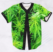 Real AMERICAN USA Size Custom made 420 Field Fashion 3D Sublimation Print  Baseball Jersey Plus Size