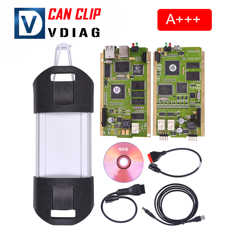 A++ Renault Can Clip V156 Best Quality multi-languages Renault Can Clip Professional Diagnostic Tool renault clip Free shipping(China (Mainland))