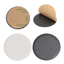 1 PC Replacement 3cm Round Leather Metal Plate For Magnetic Car Mount Phone Stand(China)