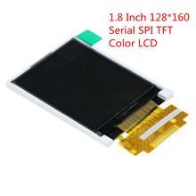 1.8 Inch 128*160 Serial SPI TFT Color LCD Module Display ST7735 With SPI Interface 5 IO Ports for Arduino 1.8'' 128x160