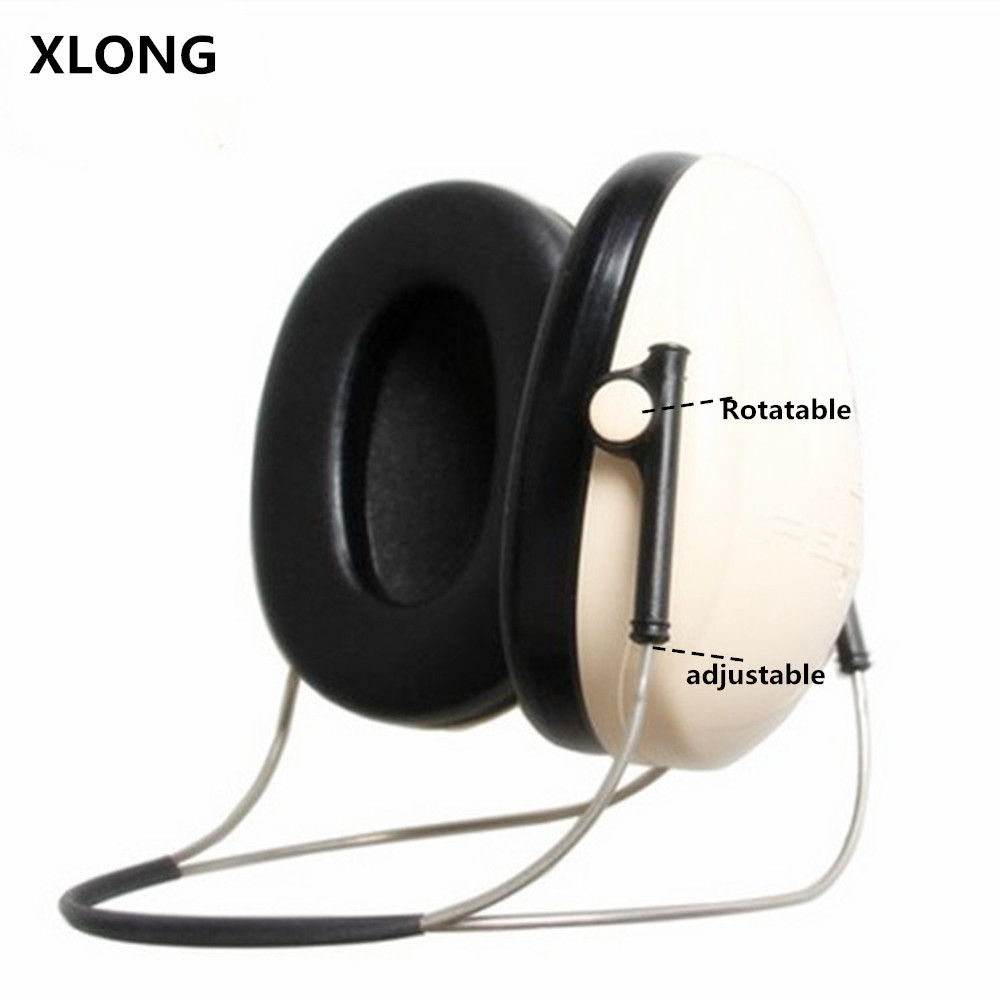 Adjustable Soundproof Earplugs Noise Reduction Ear Muff Anti-noise Headphones for Tactical Shooting Hunting<br>