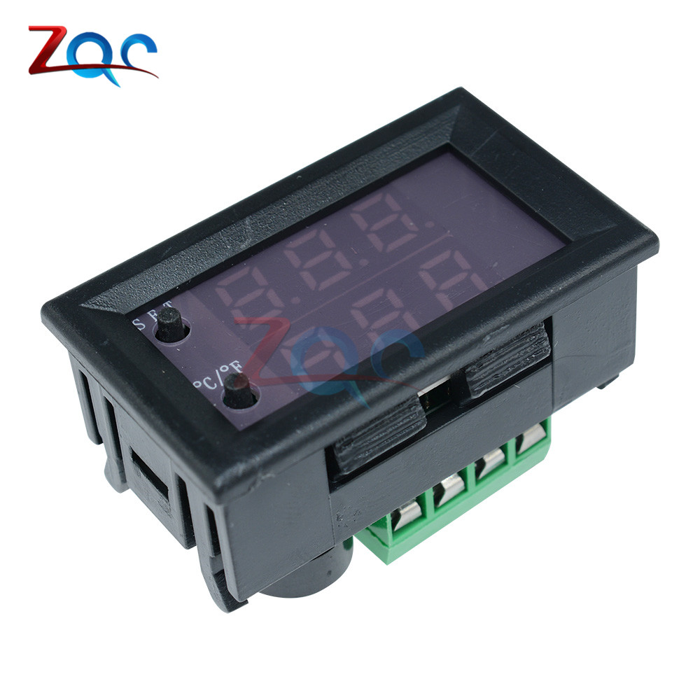 W1209WK W1209 WK W1219 DC 12V LED Digital Thermostat Temperature Control Thermometer Thermo Controller Switch Module +NTC Sensor 8