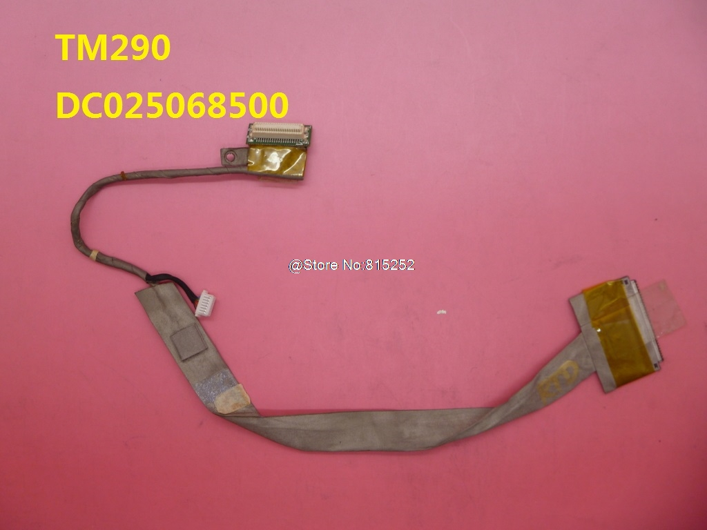 Laptop LCD Cable For Acer TM290 DC025068500 DC025070300 / TM290E DC025068100/DCL55 New and Original<br>