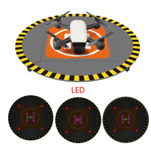 LED lectronic Landing Pad Parking Apron for DJI Mavic Pro Platinum/Spark/Phantom 4 Pro/4/3 inspire 1/2 Night flight Accessories(China)