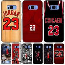 Forever Legend Michael Jordan Black Case Cover Shell Coque for Samsung Galaxy S3 S4 S5 Mini S6 S7 S8 Edge Plus S8+(China)