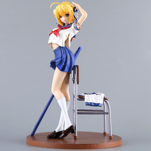 Fate/Grand Order Saber Sailor Suit Ver. Action Figure Altria School Uniform Ver. Doll PVC figure Toy Brinquedos Anime 24CM