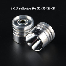 Free shipping Aluminum Smooth Reflector for Cree XM-L XP-G XP-E Emitters SMO Reflector(China)