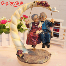 Home Decoration Accessories Resin Mother Gifts Wedding Decoration Terrarium Figurines Souvenir Figures For the Garden
