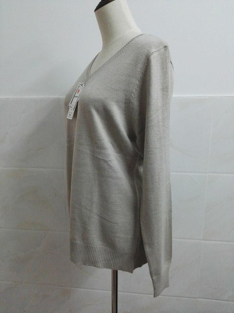 Cashmere Sweater V Neck Women Fashion Autumn Pullovers Knit Cashmere Sweater Women Slim Knit Coat Female Blouse Winter Knitwear 37