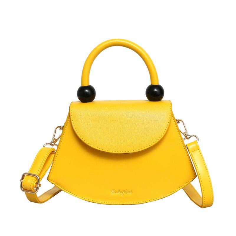 Top-Handle Simple Designer Shoulder Handbags Soft Leather Square Women Crossbody Bags Shoulder Strap Sling Bags 2019 Small Totes