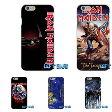 Pop Classic rock band Iron Maiden Silicon Soft Phone Case For Samsung Galaxy S3 S4 S5 MINI S6 S7 edge S8 Plus Note 2 3 4 5(China)