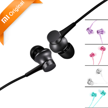 Original Xiaomi Fresh Edition Earphones Mi Earphones 3rd Generation Version In-Ear with Mic Wire Control Auriculares Xiaomi Mi