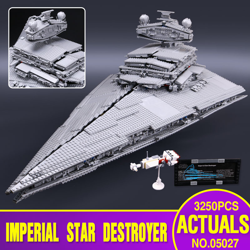 LEPIN 05027 3250Pcs Star Wars Emperor fighters sta...