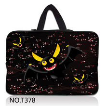 Bat Neoprene Laptop Bag For Notebook Netbook Sleeve Cases Tablet Pouch For 7 8 10 12 13 13.3 15 15.6 17 inch Mini Computer(China)