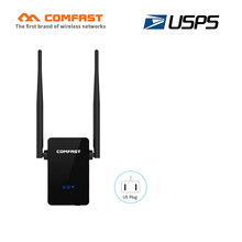 COMFAST 300Mbps WIFI repeater with 10dBi antenna Wireless-N Wifi Router signal extender booster Amplifier 802.11 b/g/n repetidor(China)