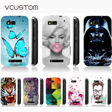 vcustom cartoon Eiffel Tower white hard cases for coque Motorola moto Defy MB525 case cover for motor Defy Plus ME525 case(China)