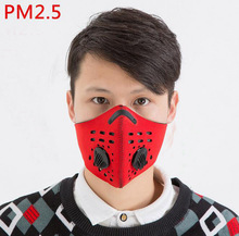 Bike Cycling Face Cover Outdoor Winter Protection Dustproof Breathable Mask Bicycle Cycle Equipment Carbon Haze Filter