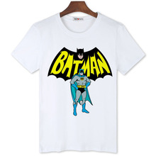 BGtomato hot sale cool Batman fashion T-shirts Men's original brand personality shirts cheap sale tees new arrival brand tops(China)
