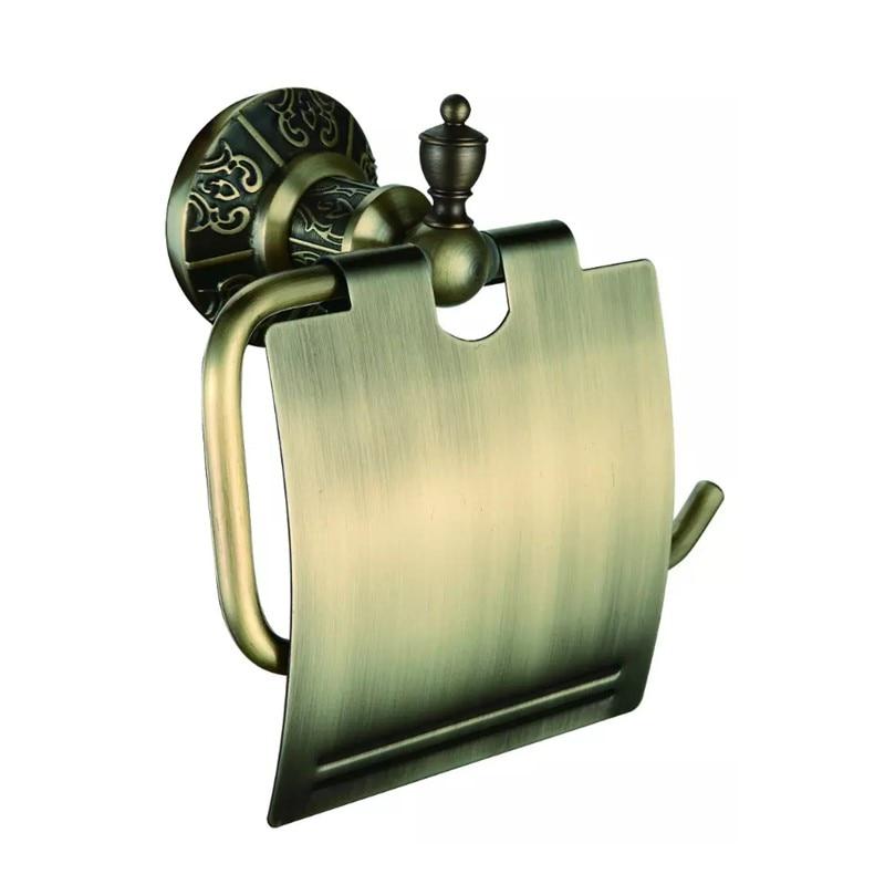2017 Wholesle New High Quality Antique Bronze Toilet Paper Holder Bathroom Hardware<br>