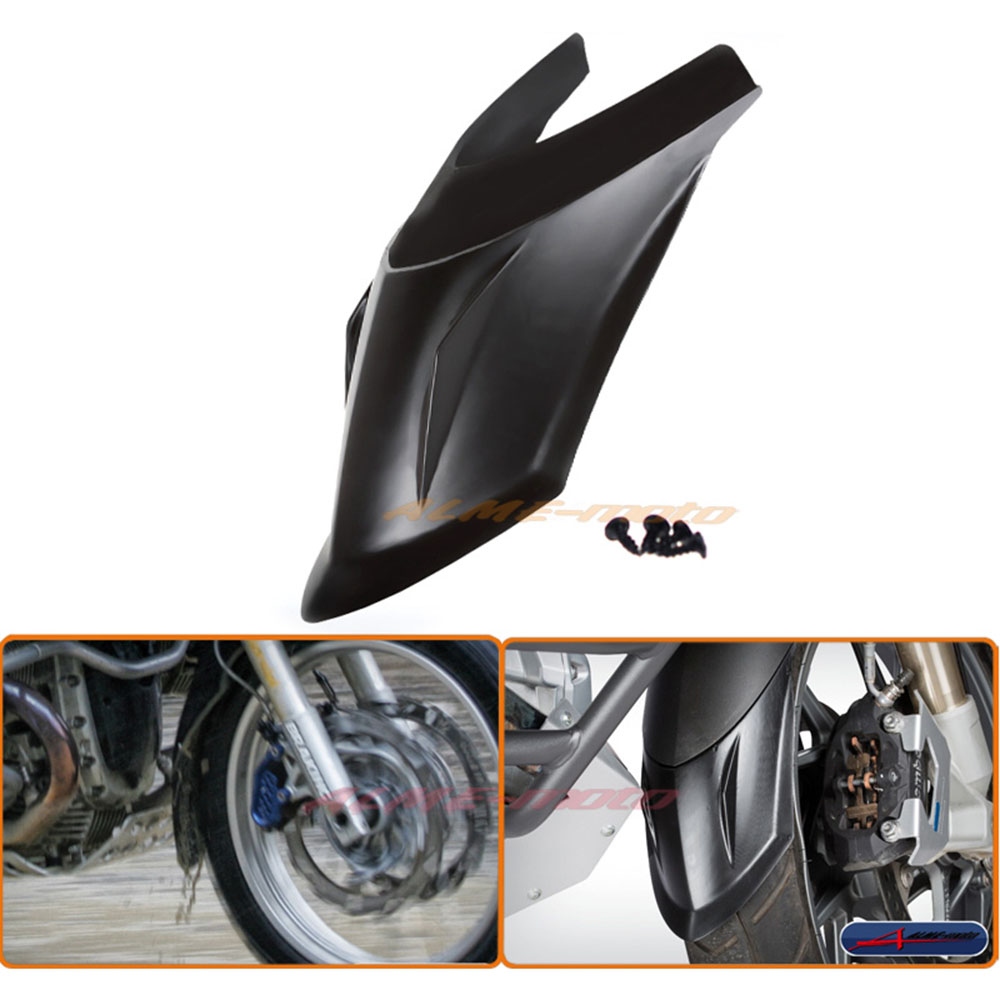 Motorcycle Front Mudguard Fender Rear Extender Extension For BMW R1200GS LC 2013-2016, R1200GS Adventure 2014-2016<br>