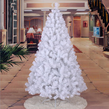 1.8 m / 180cm widening encryption environmentally friendly material PVC white Christmas tree decorated Christmas gift mall gift