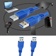 1m 24/28AWG USB 3.0 Male to Male Cable USB 3.0 Extension Cable usb Cabo de dados for mobile HDD