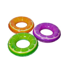 New Summer Fruit Style Adult / Child Thicken PVC Swimming Ring Floating Rings Kids Inflatable Swimming Laps B2C Shop